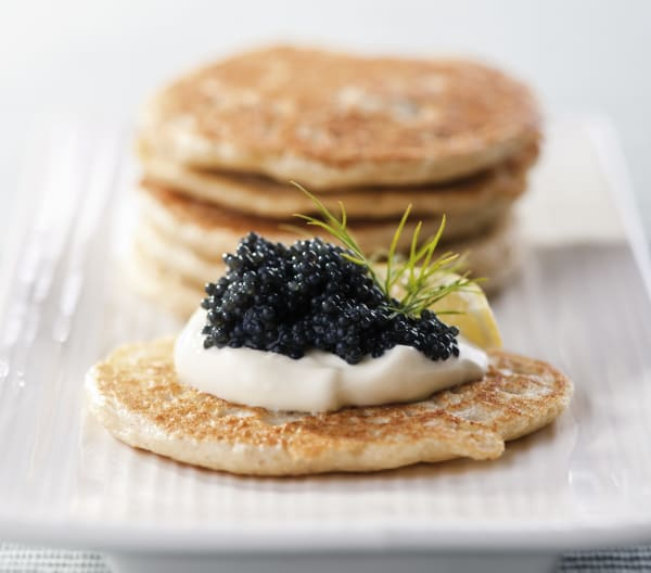 Blinis på Thermomix