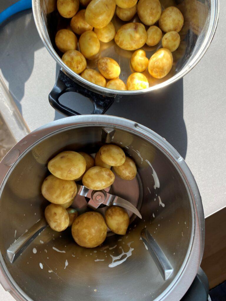 Nye Kartofler på Thermomix